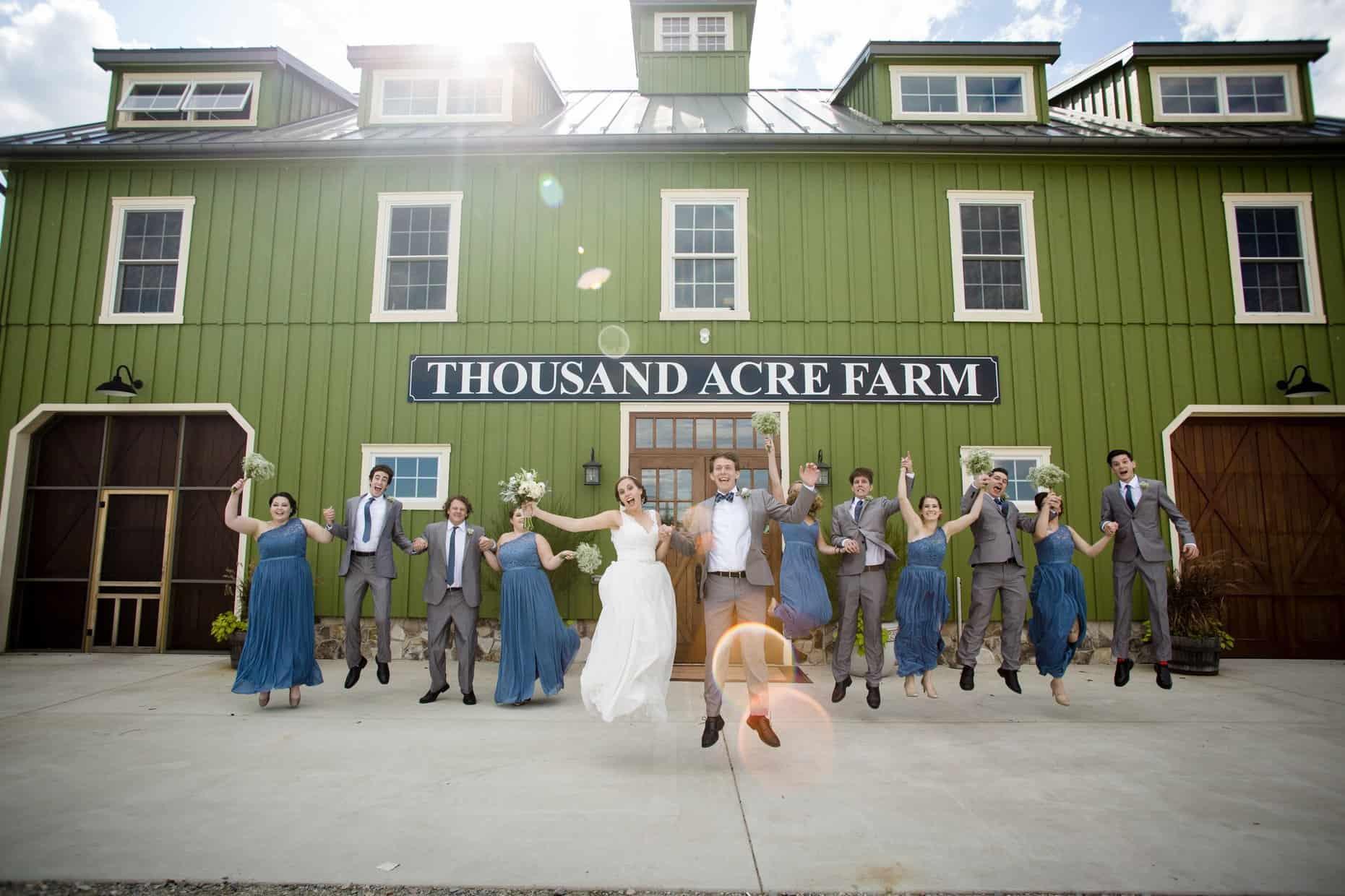 Thousand Acre Farm Wedding Photographer